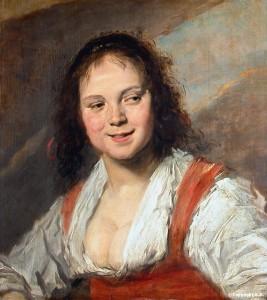 La solitude des peintes - La Bohémienne - Frans Hals dans La solitude des peintes bohemienne-267x300