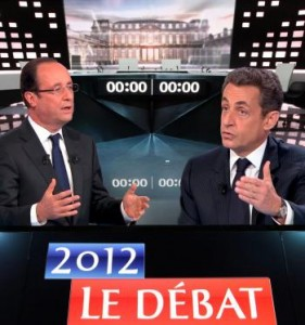 Débat Hollande - Sarko, quand le Flamby se paye un ferment lactique dans L'humeur d'Edouard debatsarko-281x300