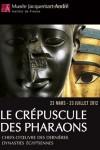Le crépuscule des pharaons – Musée Jacquemart-André – EEE