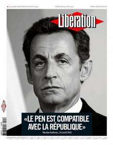Une de Libé - Quand Libération se prend pour Paris-Match dans L'humeur d'Edouard unelibé-233x300