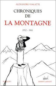 Chroniques de La Montagne - Alexandre Vialatte - EEEE dans Les lectures d'Edouard chroniquessss