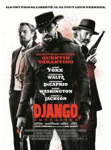 Django unchained - Quentin Tarantino - EE dans Le cine d'Edouard django-unchained-affiche-france-221x300