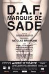 D.A.F. Marquis de Sade – Ciné 13 Théâtre – E